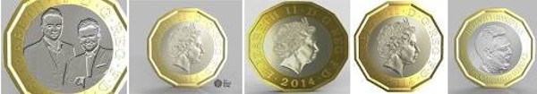 New 2014 Pound Coins